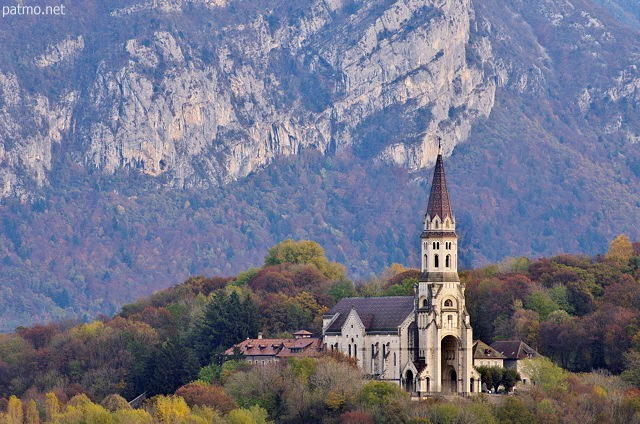 Photograph of Visitation basilica in Annecy