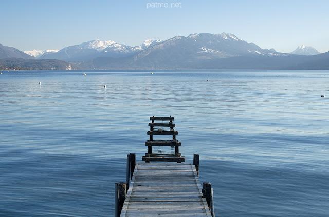 Nouvelles images  Ponton sur le lac à Annecy le Vieux ~ Sur Les Bois Annecy Le Vieux