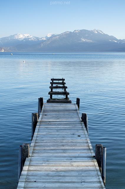 Nouvelles images  Ponton sur le lac dAnnecy à Annecy le Vieux ~ Sur Les Bois Annecy Le Vieux