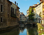 Image of old Annecy and Thiou river