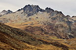 Photo of autumn in the french Alps around Col du Glandon