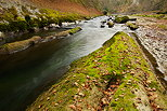 Image of the gorges of river Cheran in autumn
