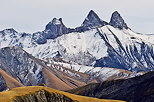 Image of Aiguilles d'Arves mountains in autumn