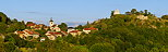 Photo panoramique du village de Chaumont en Haute Savoie