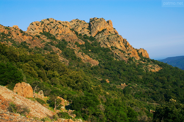 Photo du Rocher de Roquebrune sur Argens