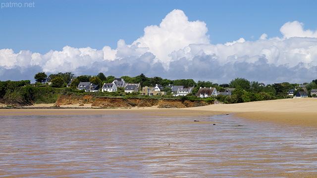 Photo Of France Maisons Bretonnes Au Bord De L Ocean A Guidel