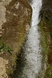 Closeup image of a detail of Dard waterfall