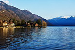 Image of Annecy lake in Talloires