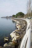 Photo of the walk along Geneva lake in Thonon les Bains