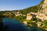 Photo of La Baume village near Sisteron in Alpes de Haute Provence