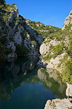 Image of Verdon canyon in Quinson